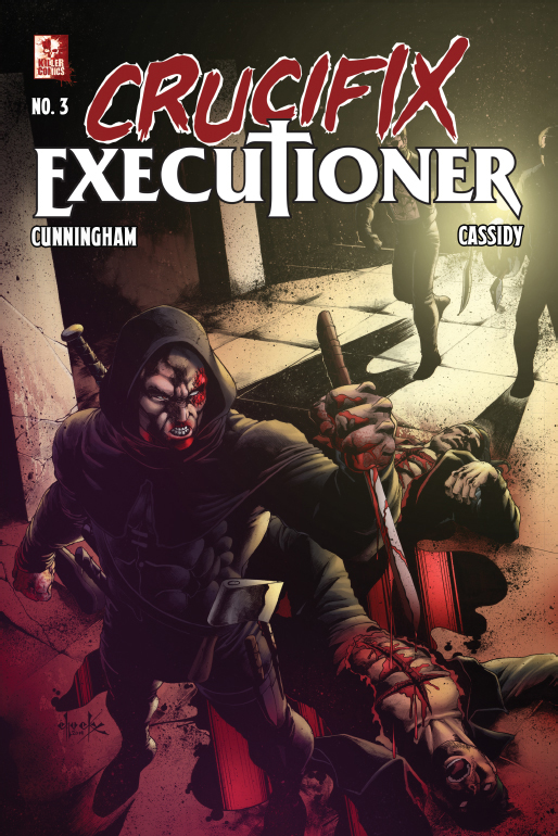 Crucifix Executioner Issue #3