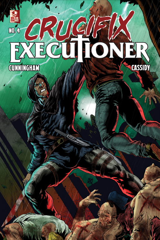 Crucifix Executioner Issue #4