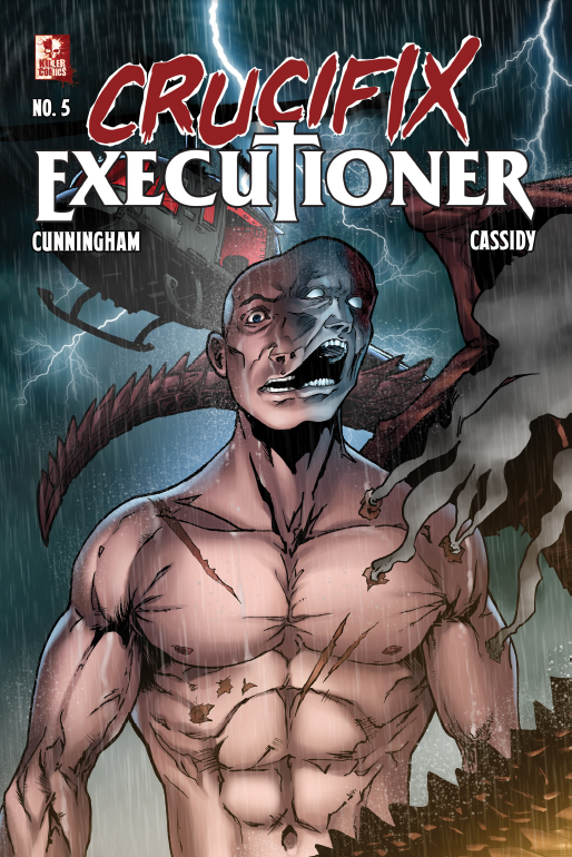 Crucifix Executioner Issue #5
