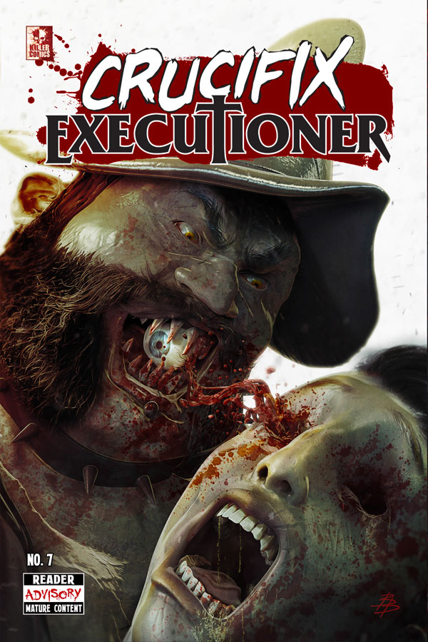 Crucifix Executioner Issue #7